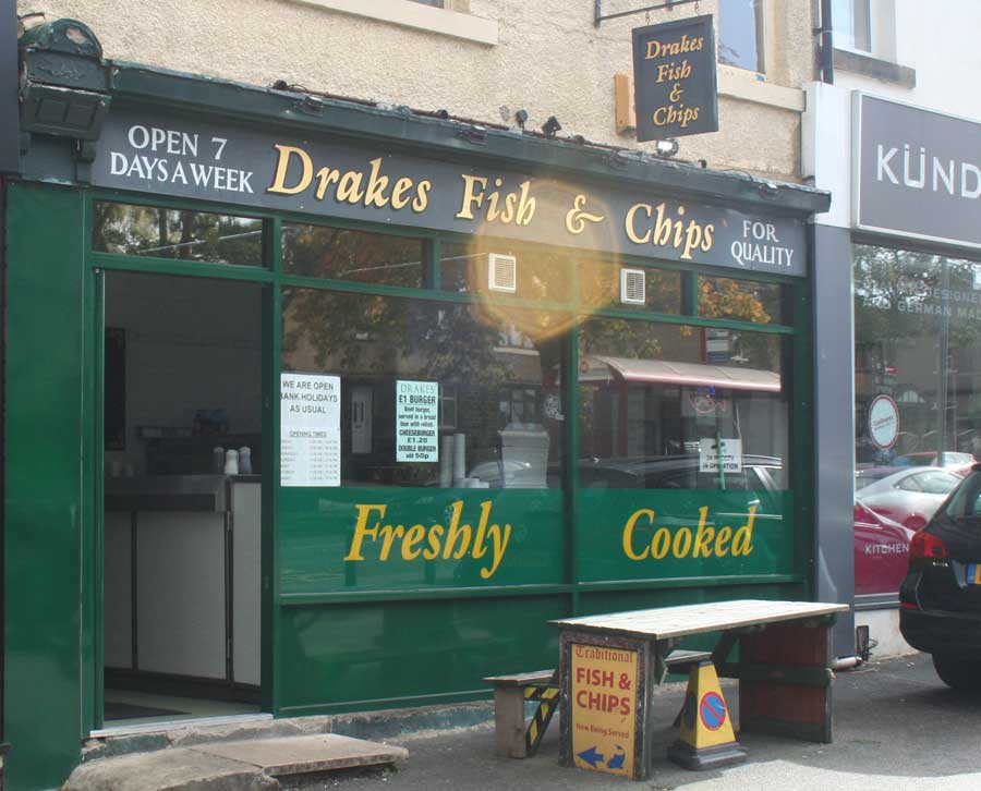 Fire At Lane Ends Fish Shop